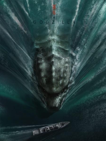 Godzilla Art by Andy Fairhurst (